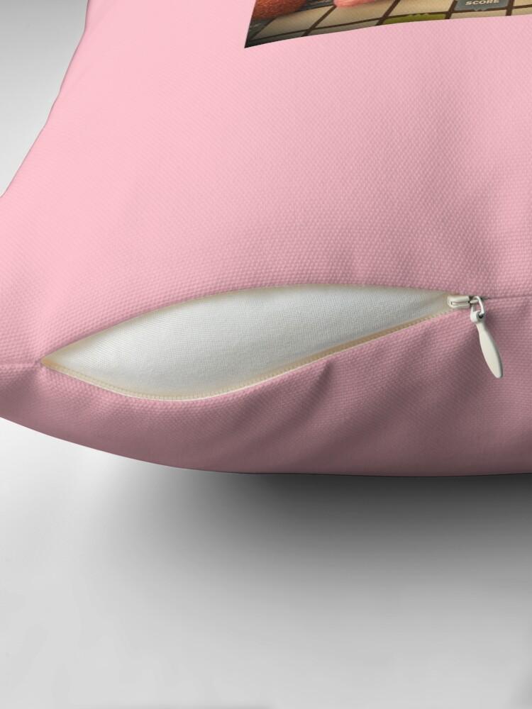 Alternate view of Anastasia pillow  Throw Pillow