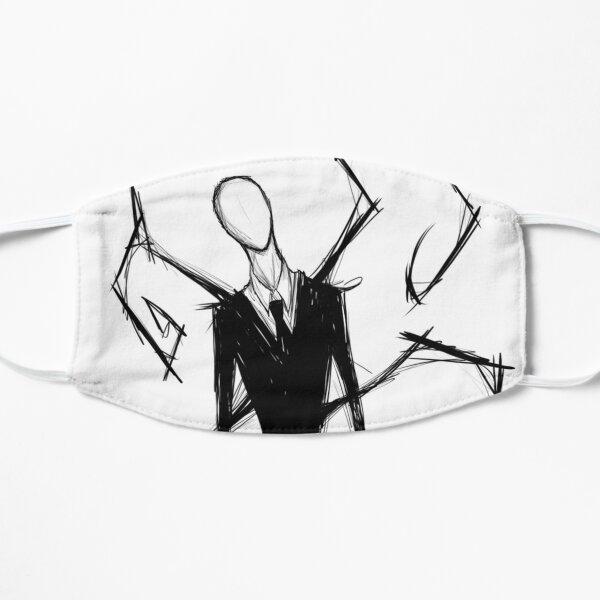 Slender Man Flat Mask