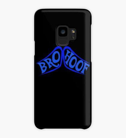 BROHOOF! (blue) Case/Skin for Samsung Galaxy