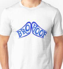 BROHOOF! (blue) Unisex T-Shirt