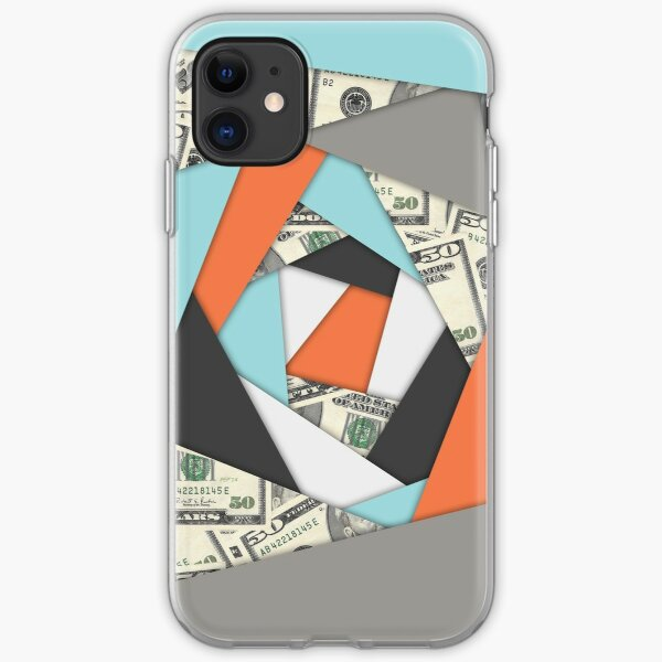 Layered Money iPhone Soft Case