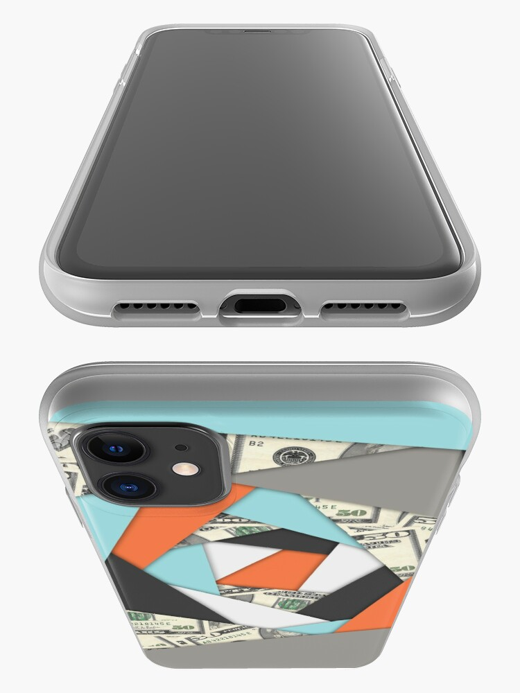 Alternate view of Layered Money iPhone Case & Cover