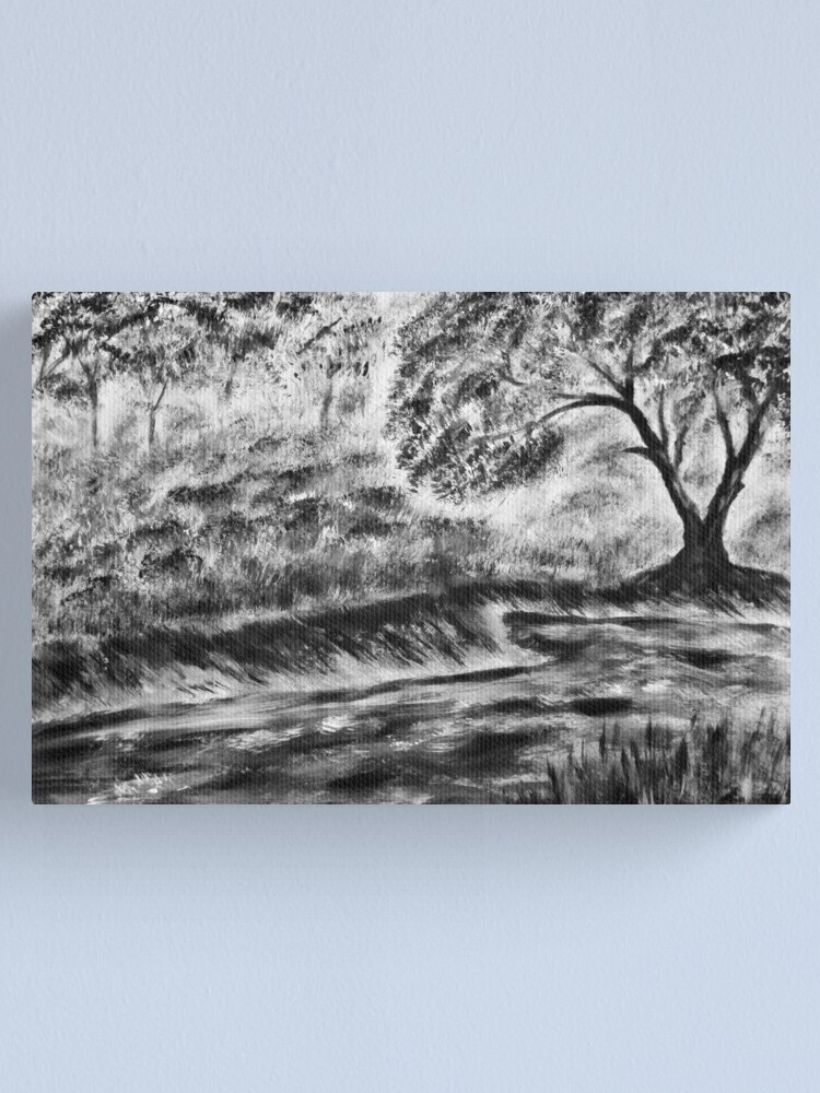 Alternate view of River Bank Canvas Print