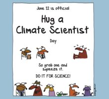 June 12 is official Hug A Climate Scientist Day