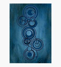 Gallifreyan Graffiti Photographic Print