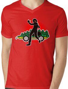 Go, Franky, Go! Mens V-Neck T-Shirt