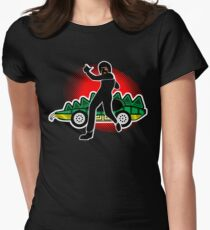 Go, Franky, Go! Women's Fitted T-Shirt