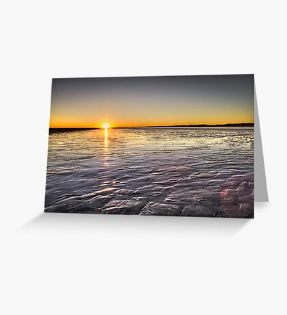 Sunrise Eighty Mile Beach - WA Greeting Card