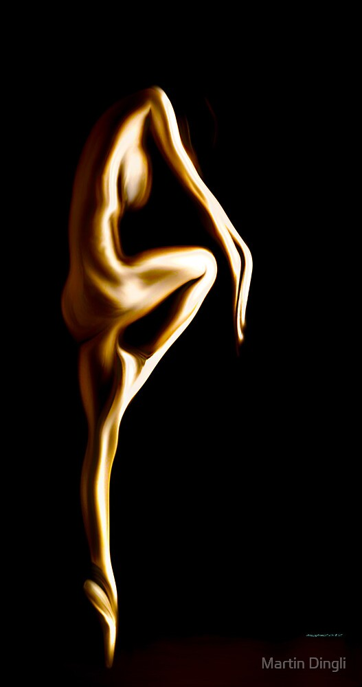 """Muse Series """"Dance"""" by Martin Dingli"""