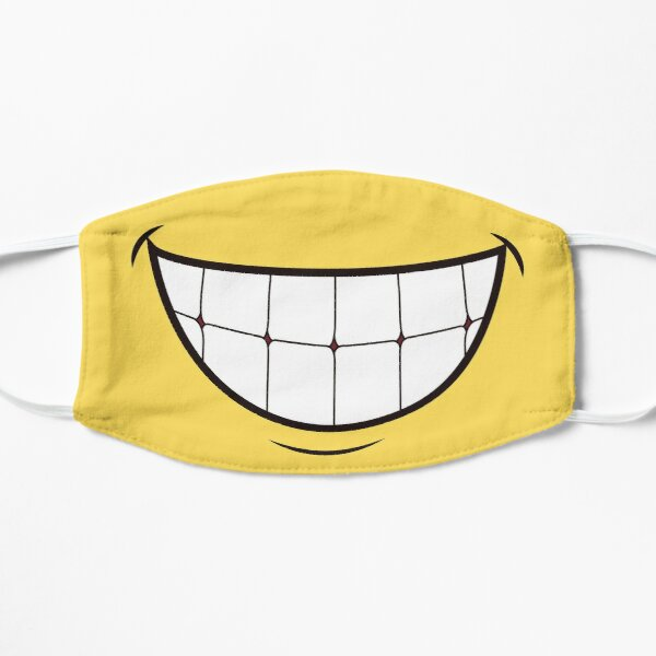 Big Smiles Flat Mask
