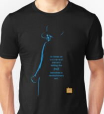 George Orwell Minimalist Quote poster T-Shirt