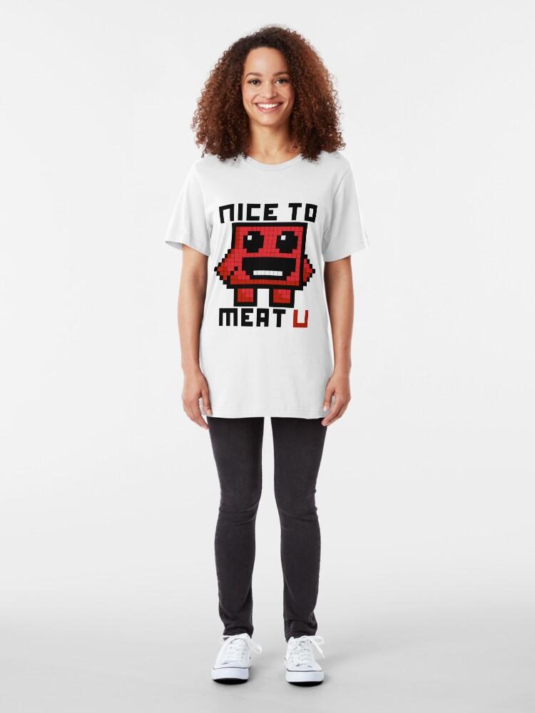 Vista alternativa de Camiseta ajustada Niza a la carne U