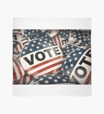 Vote Button Scarf