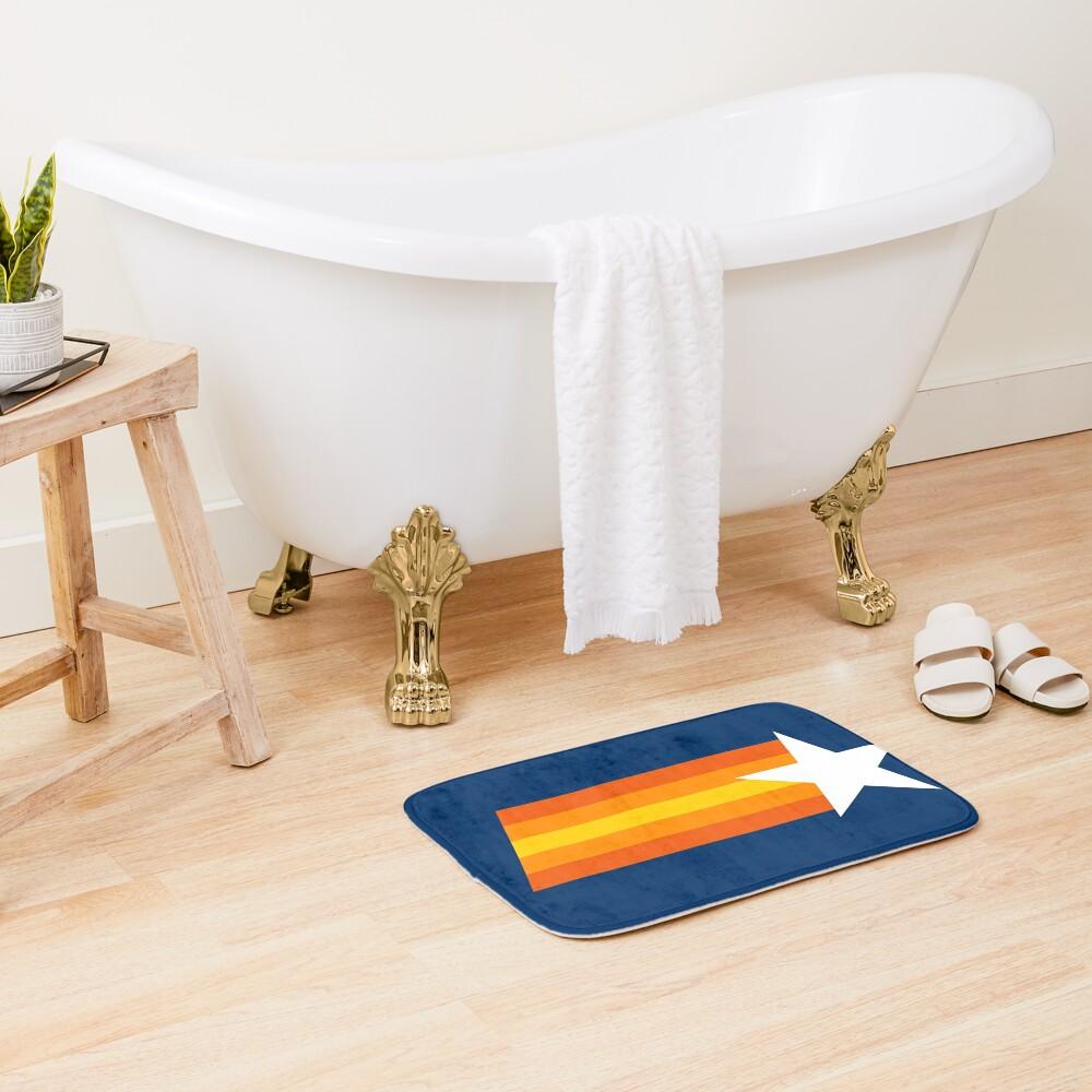 Stros Shooting Star, Blue Bath Mat