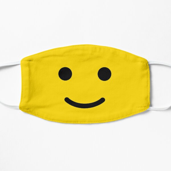 Smiley Lego Face Funny Cute Minifigure AFOL Mask