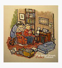 Sherlock, John, & The Baker Street Babes 2 Photographic Print