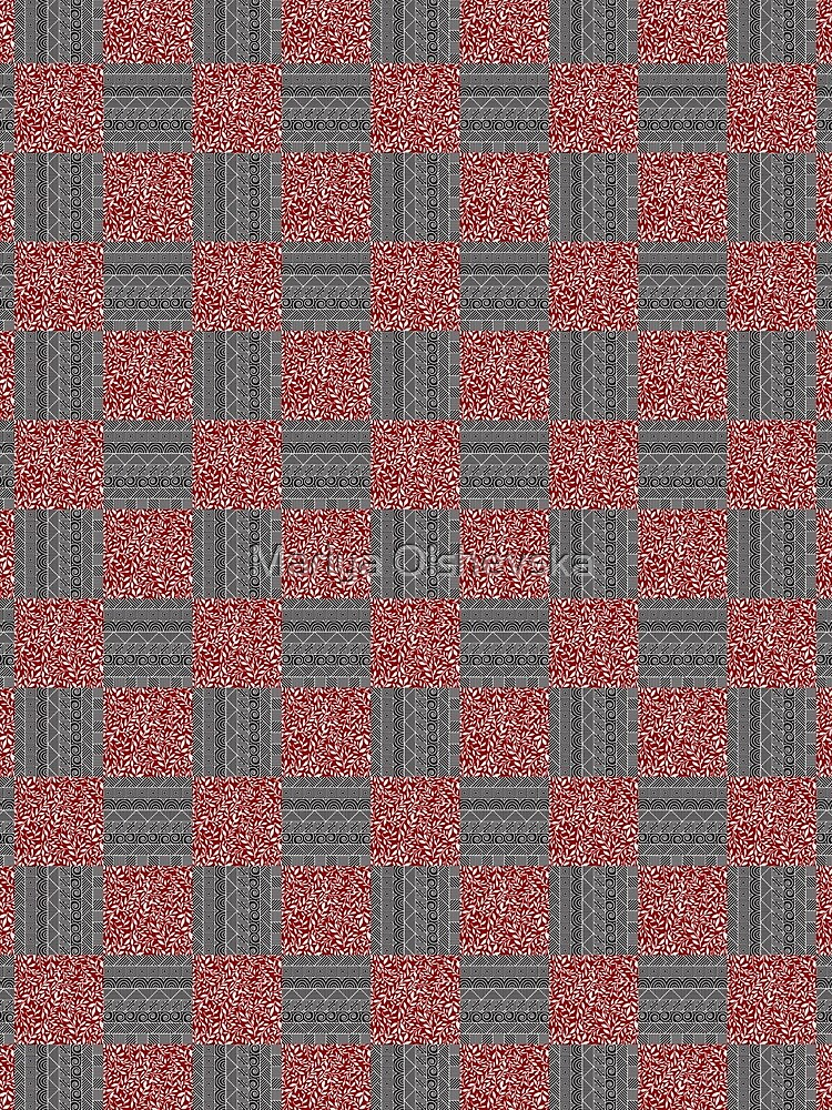 Checkered Pattern Play by OzureFlame