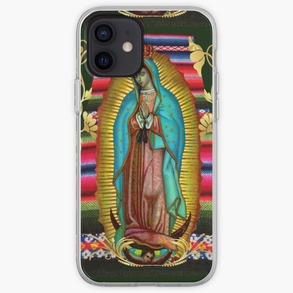 Our Lady of Guadalupe Virgin Mary Zarape 08 iPhone Soft Case