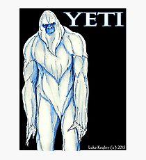 Yeti Photographic Print