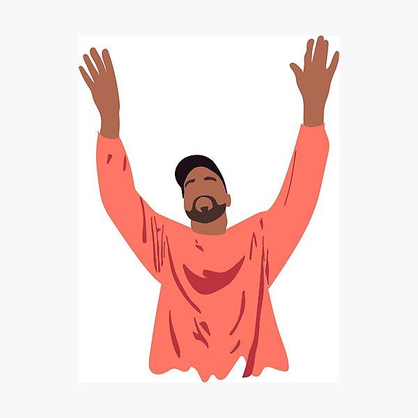 Kanye das Leben von Pablo Fotodruck