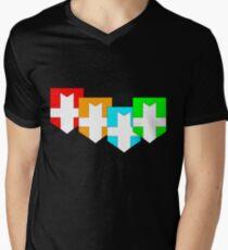 Elemental Knights Men's V-Neck T-Shirt