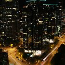 Vancouver - West Hastings By Night 1 by rsangsterkelly
