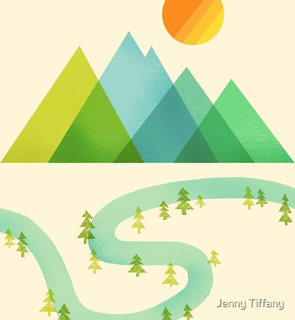 Bend in the River by Jenny Tiffany