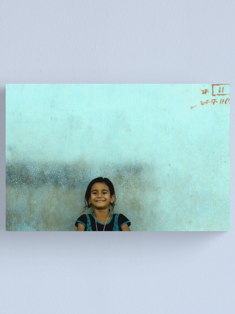 Alternate view of happiness  Canvas Print