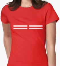 St.George Flag Womens Fitted T-Shirt