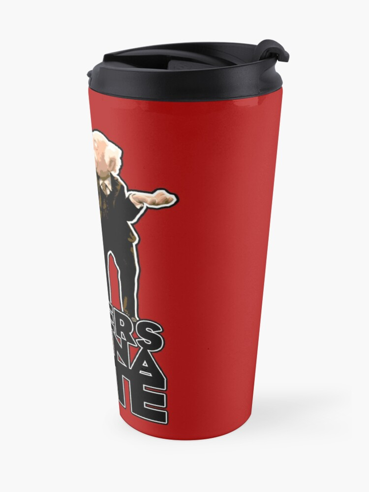 Alternate view of Statler and Waldorf - Haters Gonna Hate Travel Mug