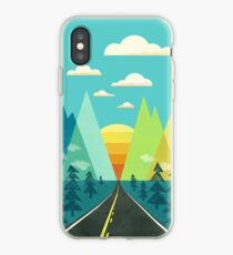 the Long Road iPhone Case
