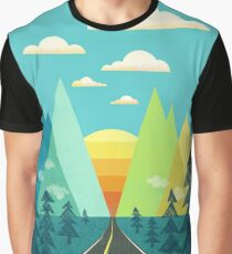 the Long Road Graphic T-Shirt
