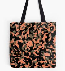 Peachy Camouflage Pattern Tote Bag