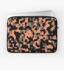 Peachy Camouflage Pattern Laptop Sleeve