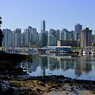 Vancouver - Stanley Park - The City by rsangsterkelly
