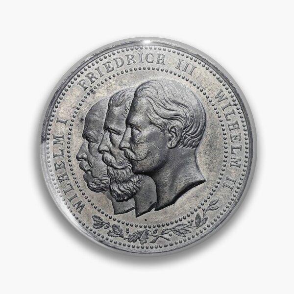 Year of Three Kaisers...1888 Pin