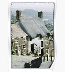 Early Snow In Shaftesbury Poster