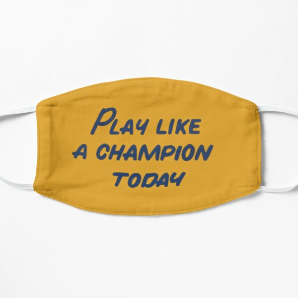 Notre Dame Play Like a Champion Today Flat Mask