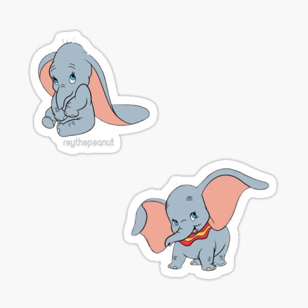 Amor de elefante Pegatina