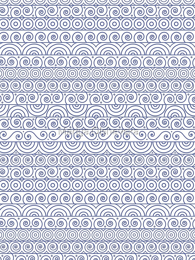 Circles and Curls Patterns by OzureFlame