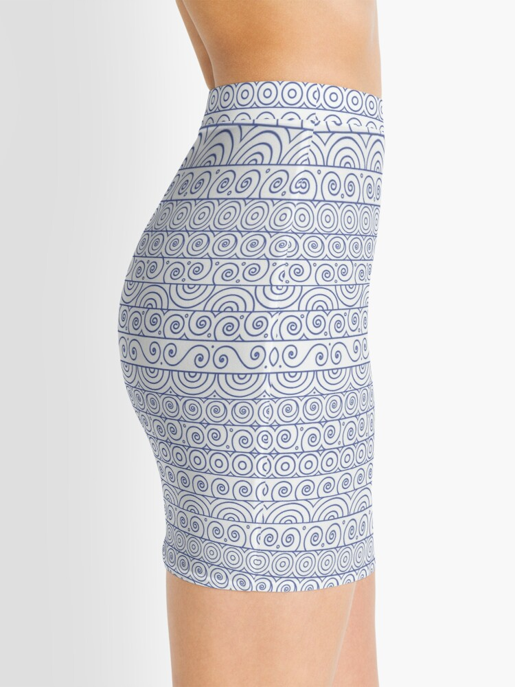 Alternate view of Circles and Curls Patterns Mini Skirt