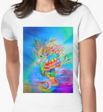 Seahorse Women's Fitted T-Shirt
