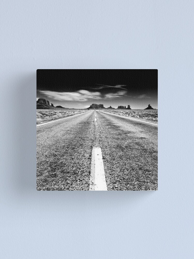 Alternate view of Open Roads Canvas Print
