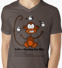 Coffee Monkey For Hire - Sticker T-Shirt