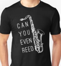 Kannst du sogar Reed? Slim Fit T-Shirt