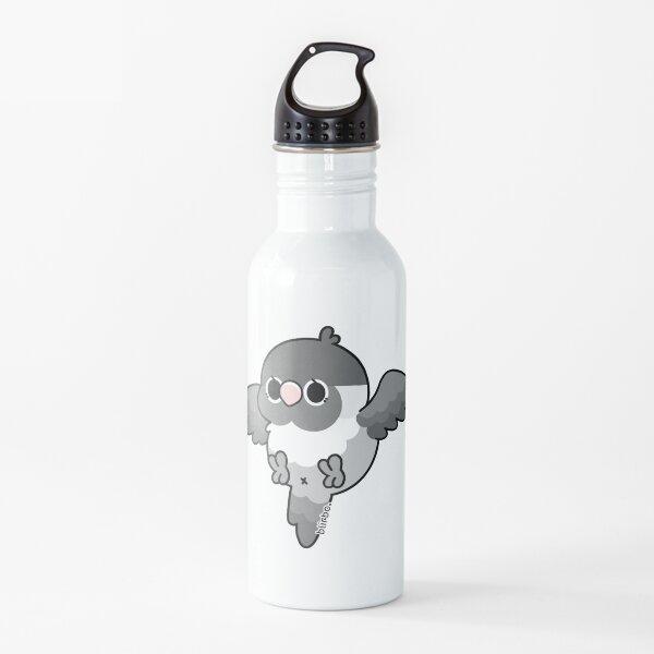 Flying Lovebird - Masked (Mauve) Water Bottle