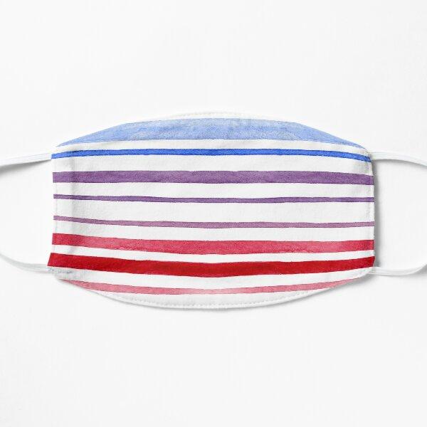 Stripes Purple Flat Mask