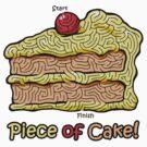 Maze Shirts: Piece of Cake! by melaiken