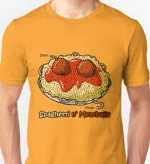 Maze Shirts: Spaghetti 'n Meatballs! T-Shirt