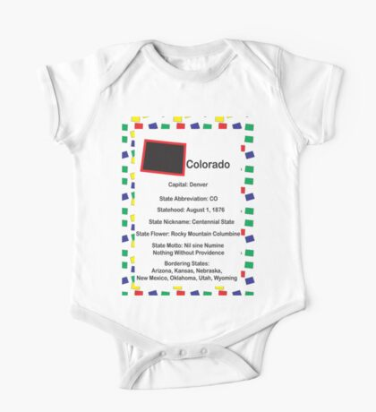 Colorado Information Educational Kids Clothes